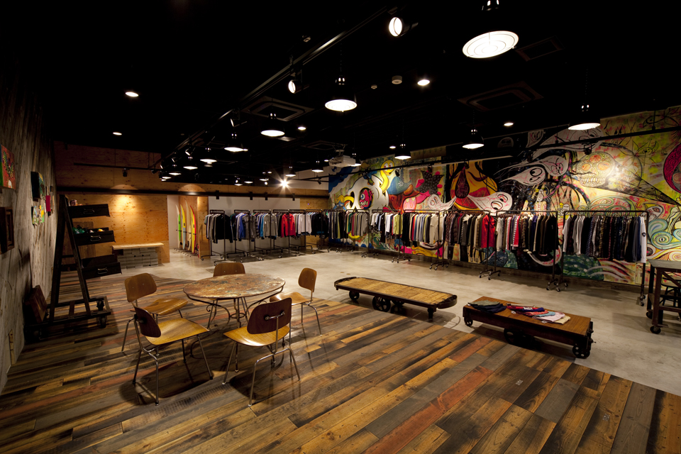 Apparel company showroom