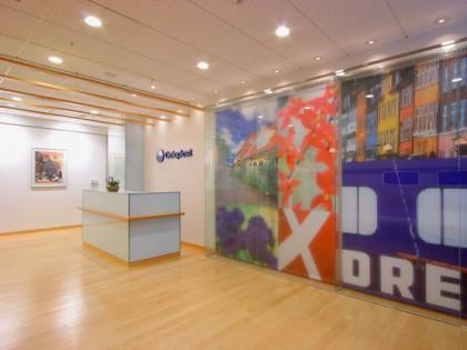 北欧テイストのオフィスデザイン