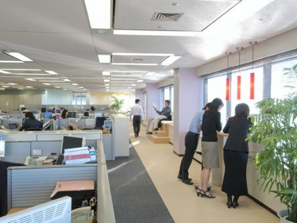 株式会社メンター・グラフィックス・ジャパン オフィスデザイン