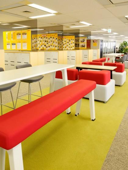 DHLサプライチェーン株式会社 オフィスデザイン