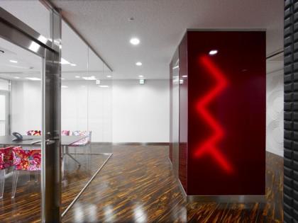 MTV Networks Japan 株式会社 オフィスデザイン